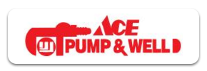Ace Pump & Well logo